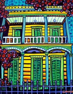 SALE ENDING  New Orleans French Quarter art by HeatherGallerArt, $12.00