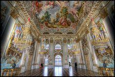 Steinerner Saal, Schloss Nymphenburg | Flickr: Intercambio de fotos