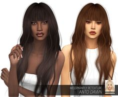 MISSPARAPLY | [TS4] Anto Dawn: Solids 64 colors Custom...