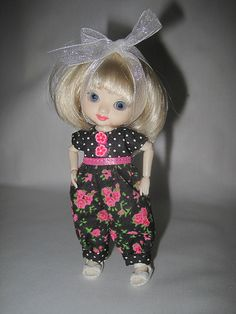 FS Black Roses for Amelia Thimble dolls 24 | by Duds for dolls 1