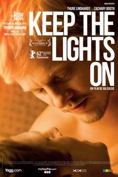 Keep The Lights On, ''one of the best LGBT films ever'' Trailer: http://www.youtube.com/watch?v=0H2M2OSDJj0  Now on iTunes: https://itunes.apple.com/us/movie/keep-the-lights-on/id589963871