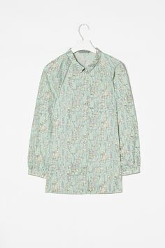 Cos Printed cotton shirt