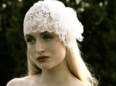 """Dauphine"" lace cap by Enchated Atelier (?)"