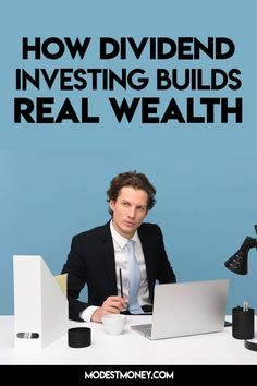 How dividend investing builds real wealth Investing In Stocks, Investing Money, Dividend Reinvestment Plan, Dividend Investing, Creating Wealth, Dividend Stocks, Investment Tips, How To Become Rich, Financial Success