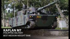 KAPLAN MT is a modern medium-weight tank being developed jointly by FNSS and PT Pindad. Warfare, Military Vehicles, Gadgets, Urban, Youtube, Army Vehicles, Gadget, Youtubers, Youtube Movies