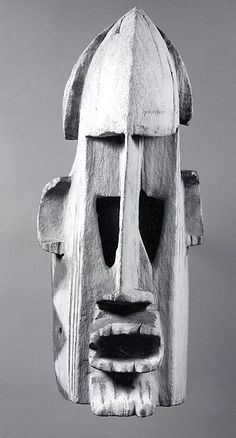 Mask (Samana) Date: 19th–20th century Geography: Mali Culture: Dogon peoples Medium: Wood, pigment, iron Dimensions: H. 16 5/8 x W. 7 x D. 8 3/4 in. (42.2 x 17.8 x 22.2 cm)