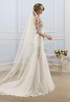 Sexy trouwjurk op maat mooie bruidsjurk van kant laten maken