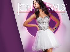Tony Bowls Shorts  »  Style No. TS11368  »  Tony Bowls Prom 2013 available at Binns of Williamsburg