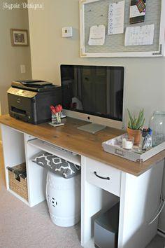 Hometalk :: IKEA Desk Transformation