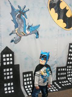 Batman party backdrop