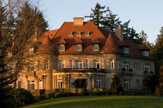 I toured the Pittock Mansion. What an amazing place. I love all the different styles of architecture within one home.