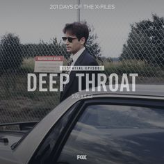 201 Days of The X-Files continues! Today: episode 2 - Deep Throat.  Watch with us on DVD or streaming and share your thoughts in comments-