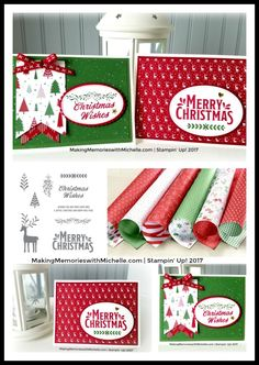 Be Merry Suite, Christmas, Merry Mistletoe, Be Merry Designer Series Paper MakingMemorieswithMichelle.com