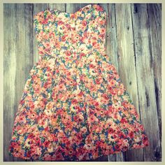 This sweet little dress is now available online! $39.95!