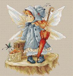 The Fairy (blue) da Luca-S - Luca-S - Ricamo - Casa Cenina