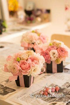 Pink arrangements   Flickr - Photo Sharing!