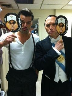#SIP photo taken by the cast of Evita on Broadway