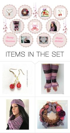 """Merry Christmas - Happy Holidays"" by bscozycottagecrafts ❤ liked on Polyvore featuring art and EtsyTeamUnity"