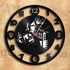 This might do as well... Wall Clock Doctor Who  Vinyl Record Clock Upcycled by geoartcrafts