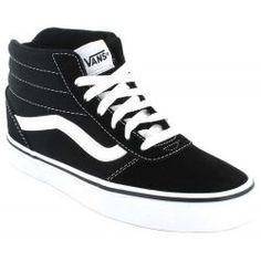 zapatillas hombre vans negras