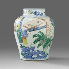A Baluster Jar, trasitional period, 17th Century
