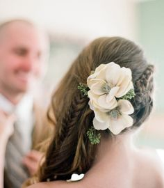 Cottage Hair Salon | boho wedding hair