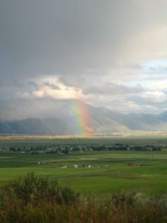 Rainbow over Afton