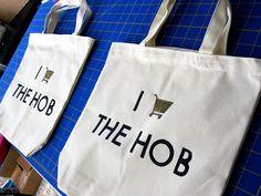 Shop @ The Hob (Hunger Games) bag tutorial
