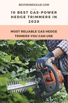 The Most Reliable Gas Hedge Trimmers To Own Cool Diy Projects, Outdoor Projects, Lawn Fertilizer, Lawn Maintenance, Backyard, Patio, Fruit Garden, Lawn Care