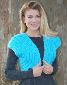 Shrug for Special Occasions - knitting loom - free pattern