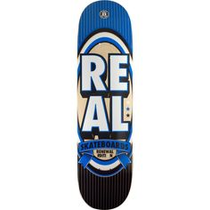 "Real Renewal Stack xxl Deck -8.5 Blue Assembled as COMPLETE Skateboard. Brand: Real - Deck width: 8.5"". Universo Extremo Boards gets you the ultimate package to turn your favorite DECK into a true COMPLETE SKATEBOARD at one unbelievable low price! - go skateboarding!. <b>NOTE: PROFESSIONALLY ASSEMBLED CUSTOM COMPLETE with Premium Components by Mini-Logo™: 53mm WHEELS - Skate Rated™ BEARINGS - Lightweight High Performance TRUCKS with High Rebound BUSHINGS - Multi layered dual grit size..."