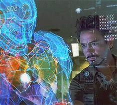 "Tony Stark in invention mode. (""Iron Man"")"