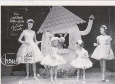 "POSTCARD-""The Easter Window Display""-1950's- @ Hess's Dept. Store/Allentown, Pa. in | eBay"