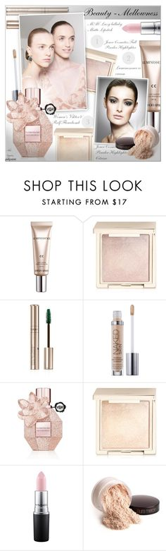 """BEAUTY - Mellowness!"" by alves-nogueira ❤ liked on Polyvore featuring beauty, CC, Jouer, By Terry, Viktor & Rolf, MAC Cosmetics and Laura Mercier"