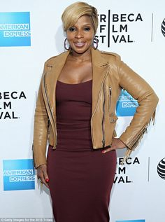 Documentary premiere: Mary J. Blige attended the world premiere of the documentary Mary J....
