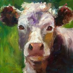 Grazing Delight, painting by artist Norma Wilson