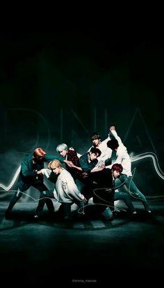 BTS | DNA | Wallpaper