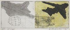 Britta Mahnecke Grafik - Fly 1 1996