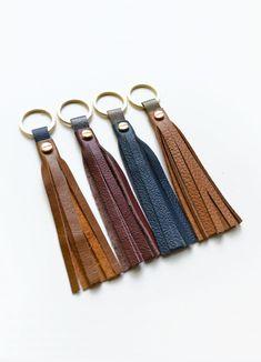 Snap Button Dark Brown PU KeyRing Fitting Silvar Design