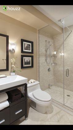 Small bathroom ideas for apartments apartment bathroom decor super tiny bathroom ideas bathroom interior small apartment . Warm Bathroom, Modern Bathroom Tile, Bathroom Interior, Master Bathroom, Beige Bathroom, Natural Bathroom, Shower Bathroom, Modern Bathrooms, Small Bathroom Layout