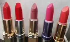 Clinique, L'Oreal, Colorbar and Lakme - October Festive Haul Loreal Paris, Revlon, Lipsticks, Make Up, Red, Beauty, Color, Lipstick, Colour