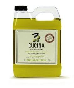 Cucina fruit and passion hand soap - my favorite smelling hand soap