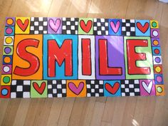 Just smile...
