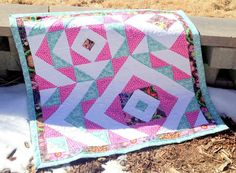 Looking for your next project? You're going to love Diamonds for Hannah Baby Quilt by designer ShantelleQuilts. - via @Craftsy