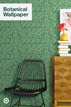Create a statement wall in any room with lush wallpaper ideas in botanical, floral & plant patterns. Botanical Wallpaper, Statement Wall, Wallpaper Ideas, Disney Phone Wallpaper, Lush, Plant, Furniture Makeover, Decorative Pillows, Patterns