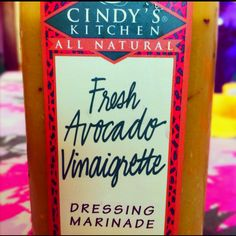 Avacado Vinaigrette Dressing Marinade