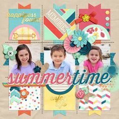 summertime - My Scrapbook Art Gallery