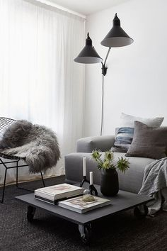 Cozy newly build home - via Coco Lapine Design blog