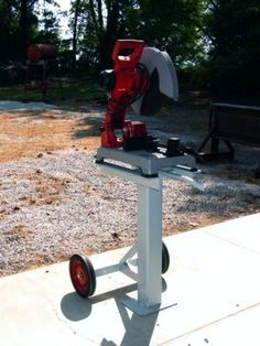 Chop Saw Stand - WeldingWeb™ - Welding forum for pros and enthusiasts