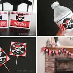 Pirate Birthday Party FREE Printables if only i found this for his parrty last year